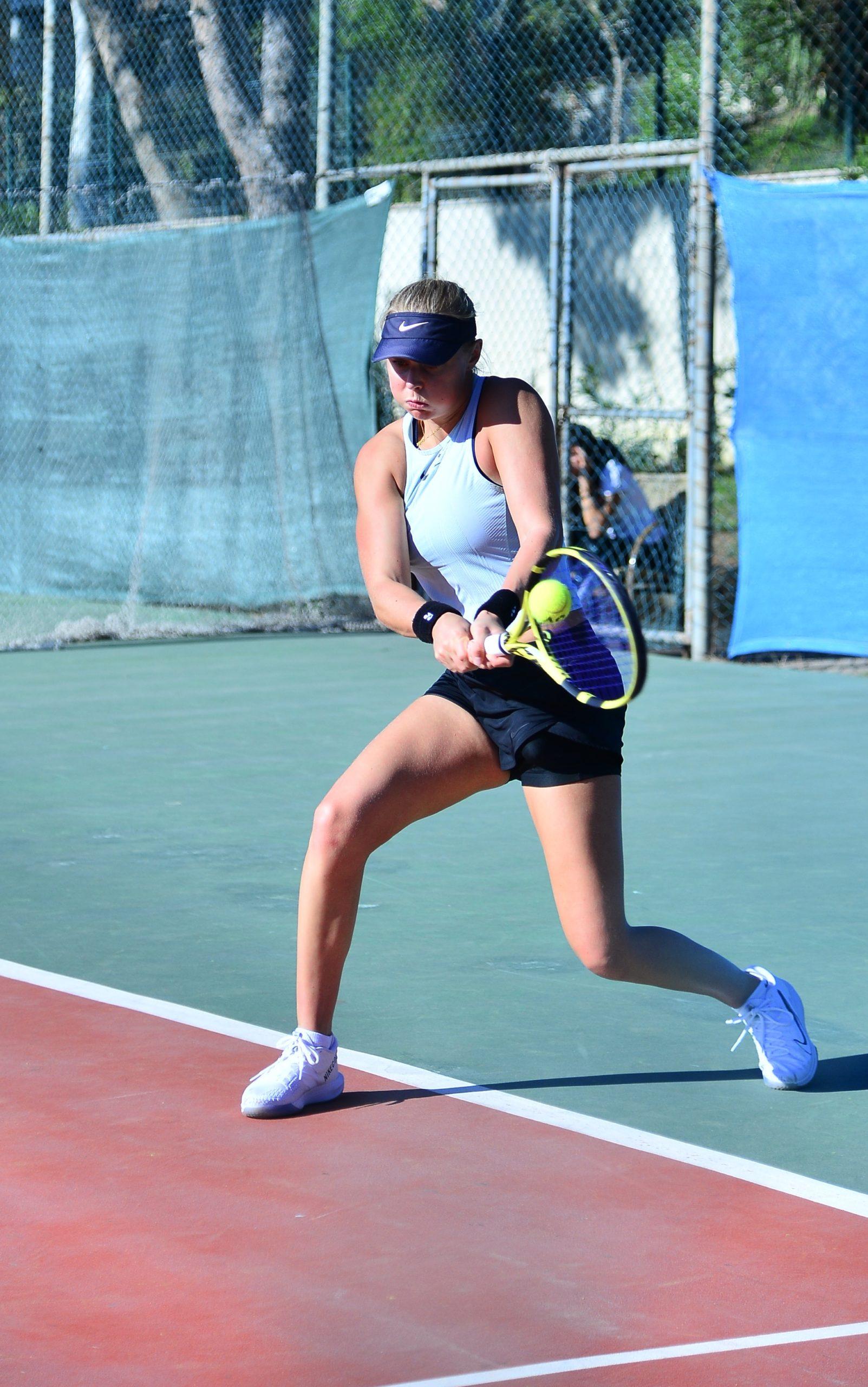 Olivia Gram professionel tennisspiller