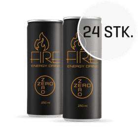 Fire sukkerfri energidrik