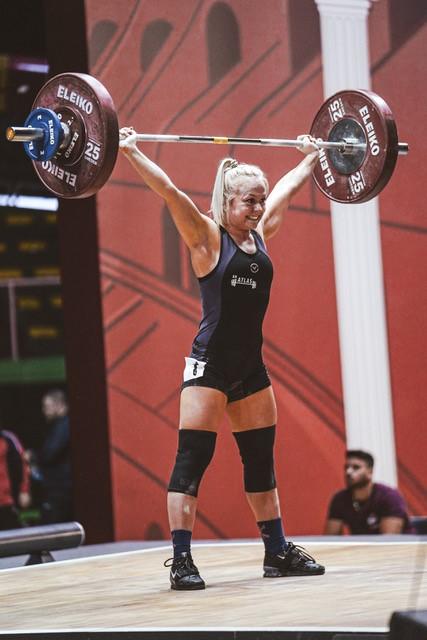 Katrine Nim Bruhn professionel olympisk vægtløfter
